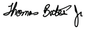 Tommy Bates Jr. Signature