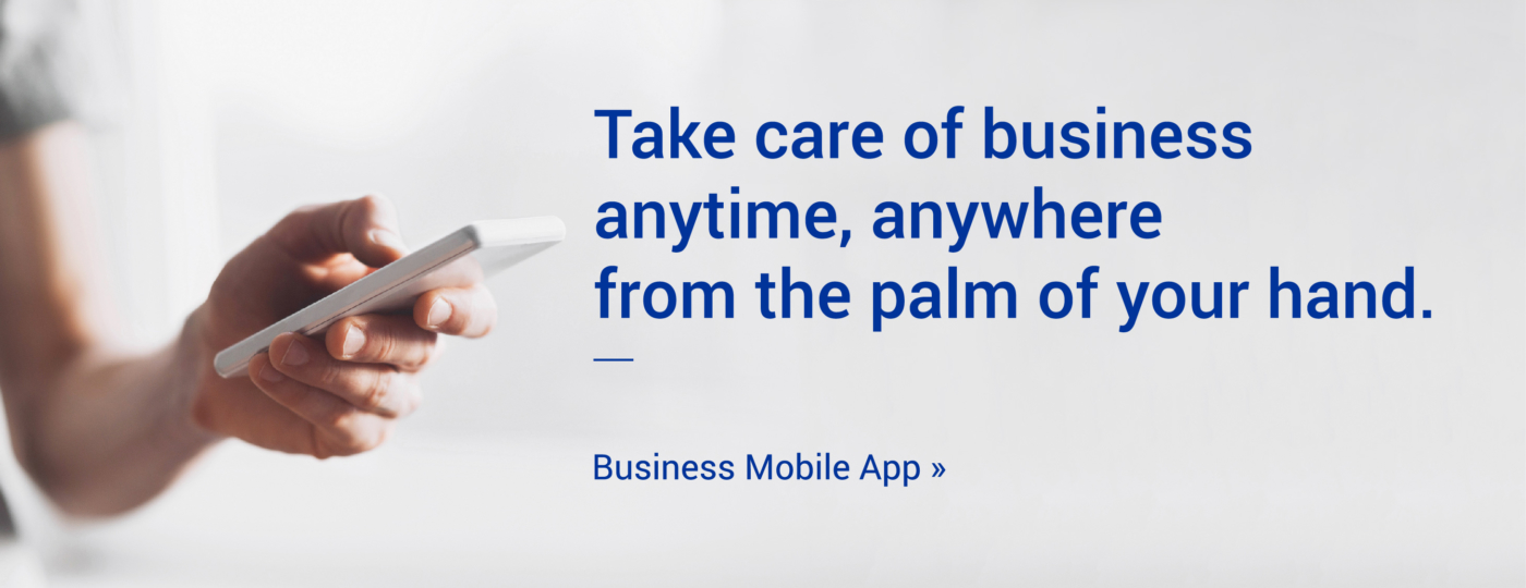 Take care of business anytime, anywhere from the palm of your hand. Learn more about Legend's Business Mobile App >>