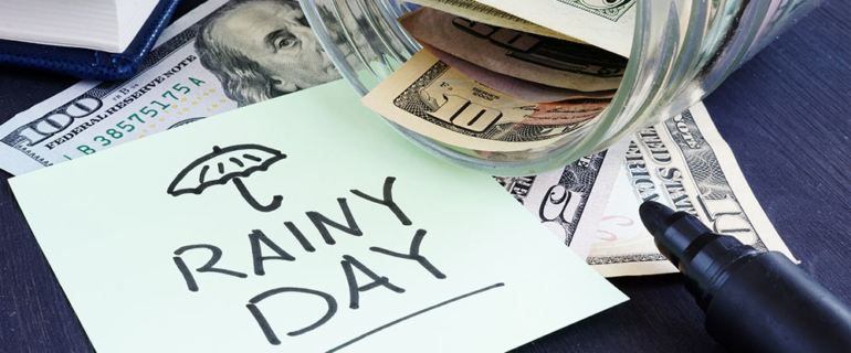 A rainy day - emergency savings fund - Do you have an emergency savings?