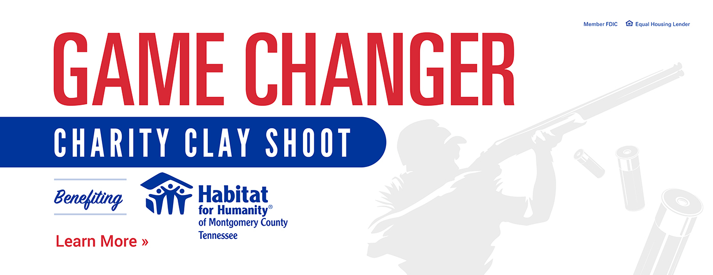 Game Changer Charity Clay Shoot Benefitting Habitat for Humanity of Montgomery County Tennessee